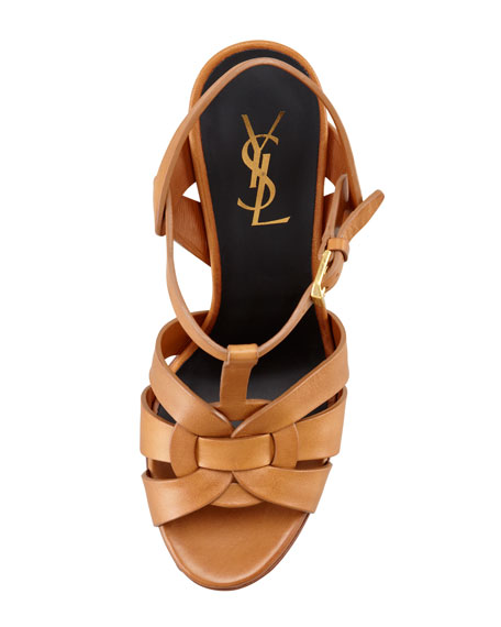 New Tribute Platform Sandal, Natural