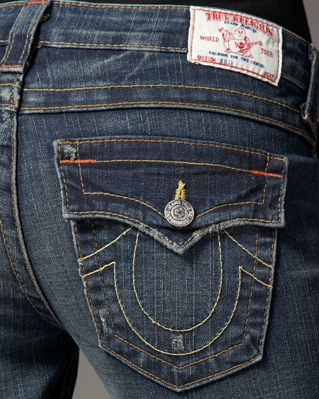 Billy Straight-Leg Dark Drifter Jeans