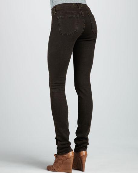 912 Noir Brown Pencil Jeans