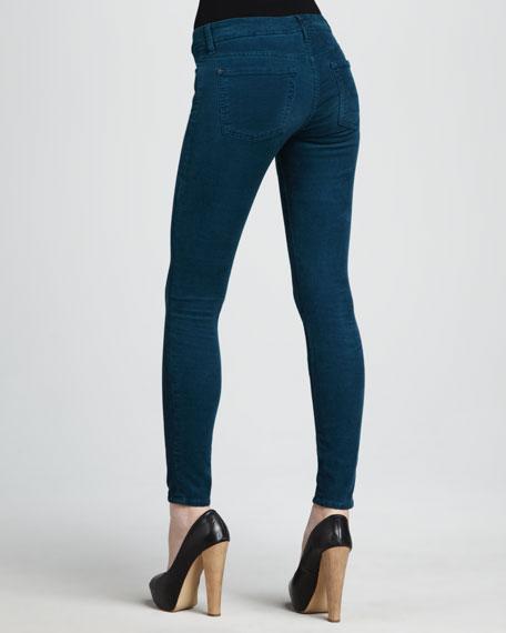 Skinny Peacock Luxe Corduroy Pants
