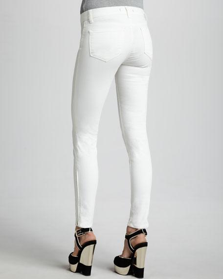 8610 Tartar Mid-Rise Zip Skinny Jeans