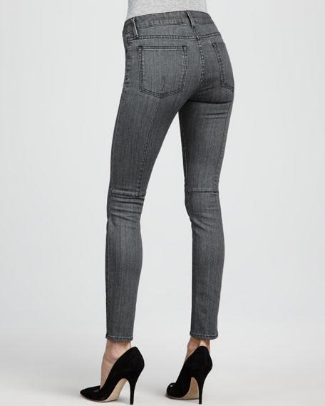 Welt-Pocket Skinny Jeans