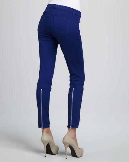 Danica Back-Zip Skinny Jeans