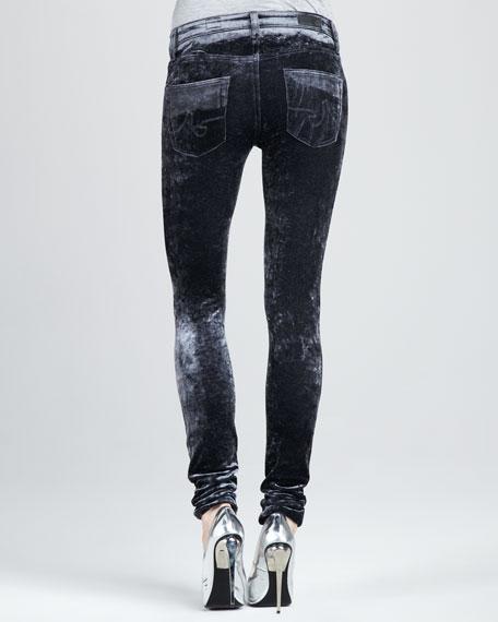 Super Skinny Crushed Velvet Leggings