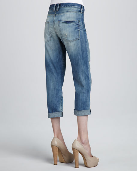 The Boyfriend Distressed Jeans