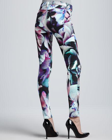 Printed Super Skinny Jeans