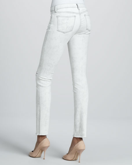 811 Hysteria Distressed Mid-Rise Jeans