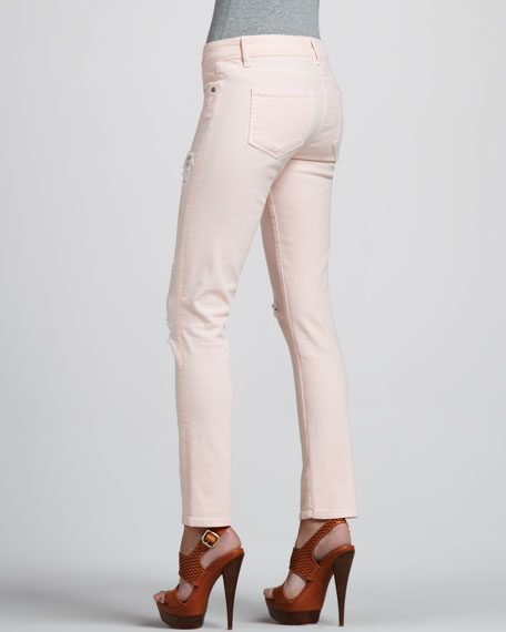 Skyline Ankle Peg Jeans, Blossom