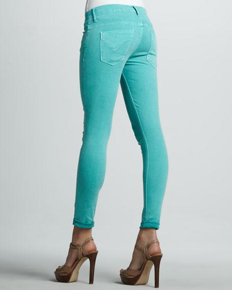Harkin Cropped Skinny Jeans, Supernova