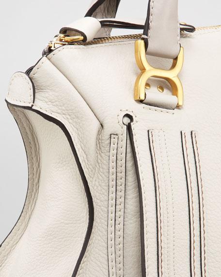 Marcie Large Shoulder Bag, Dove
