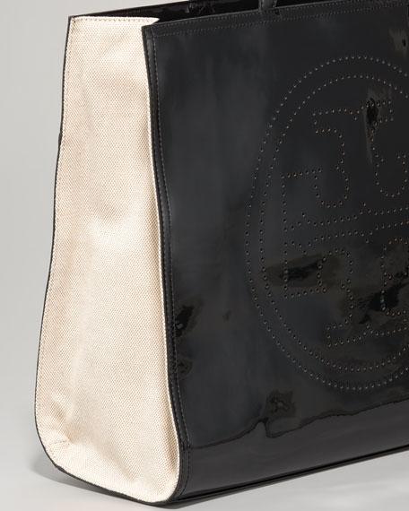 Perforated Logo Tote Bag
