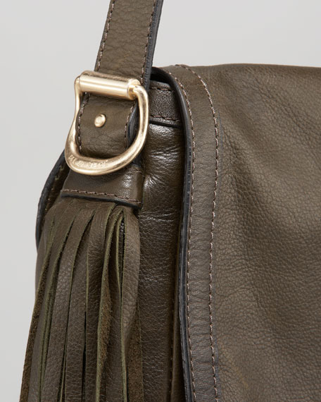Twin-Tasseled Shoulder Bag