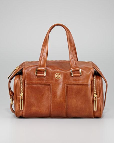 Vintage Moto Satchel Bag