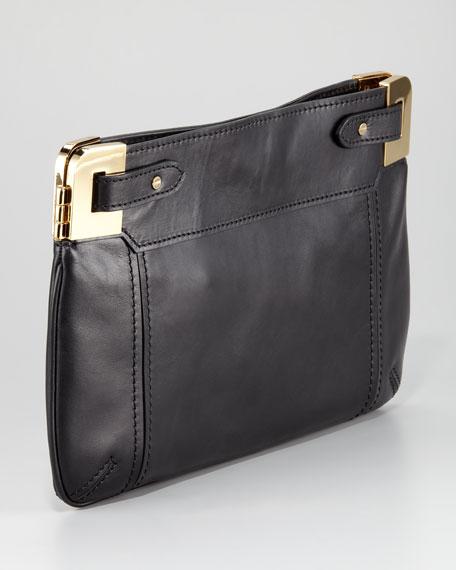Amelia Calf Hair Clutch Bag