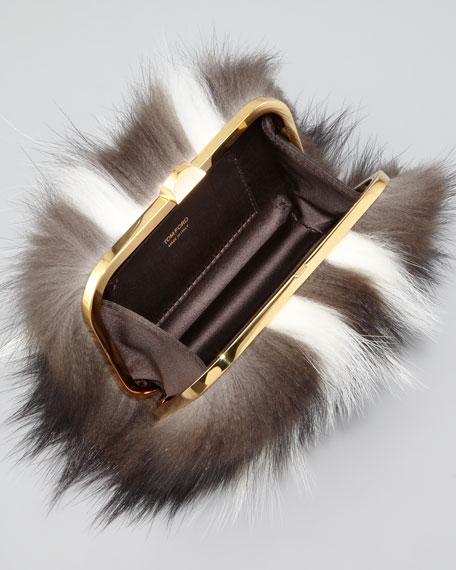 Skunk Fur Minaudiere