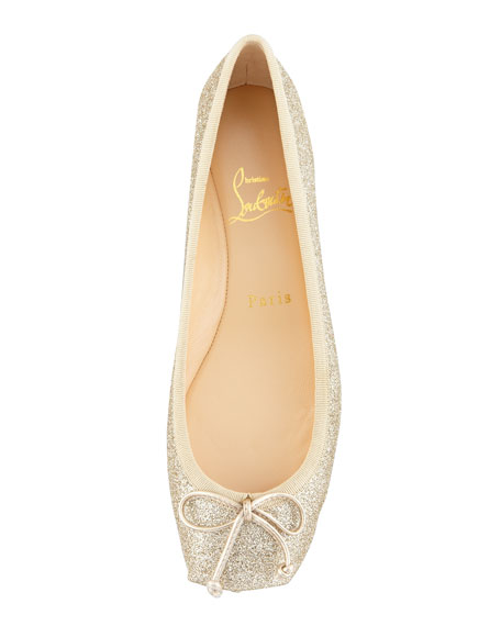 wholesale dealer 1be21 e1583 Rosel Glitter Ballerina Flat Gold