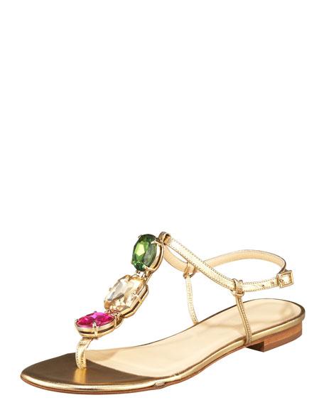 faith jewel-strap sandal