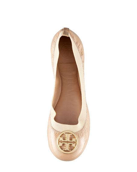 487c2c54aa3b Tory Burch Caroline Patent Ballerina Flat