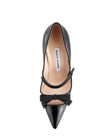 Fiocam Patent Leather Mary Jane Pump