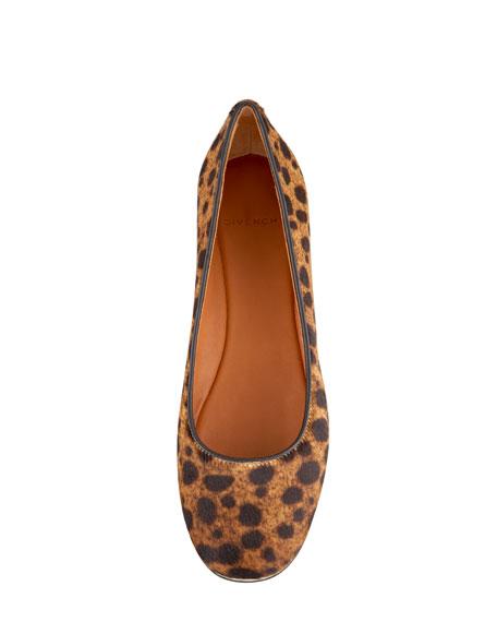 Leopard Calf Hair Flat