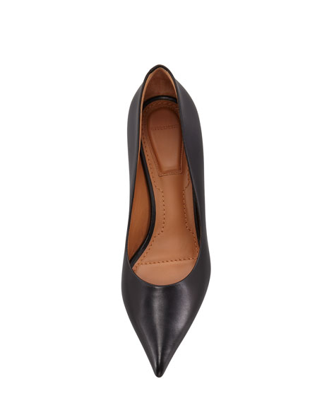 Pointed Toe Low-Heel Pump