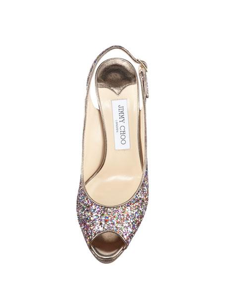 Nova Multi Glitter Sandal