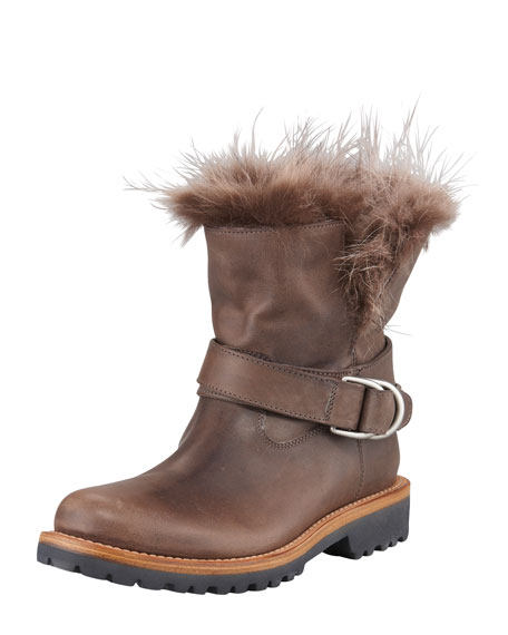 Fur-Lined Work Boot