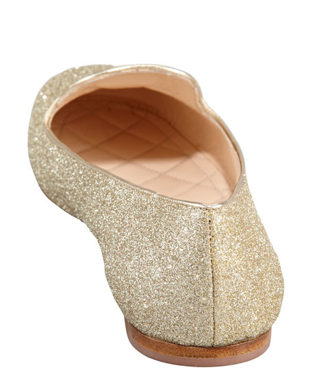 Glitter Logo Smoking Slipper