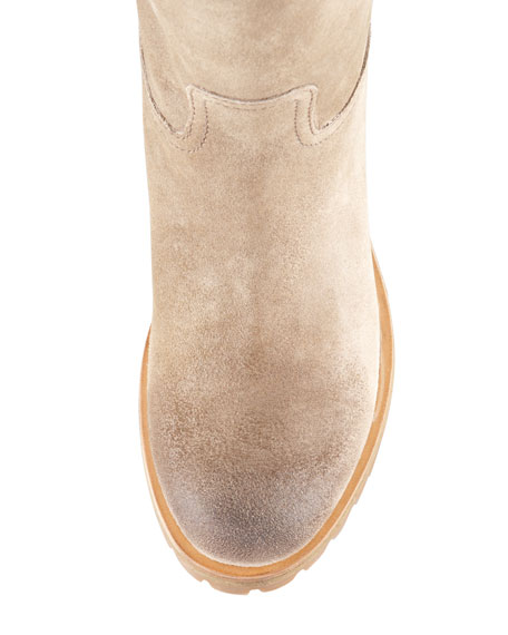 Suede Work Boot