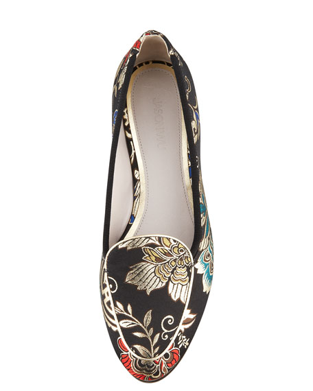 Little Emperor Brocade Loafer