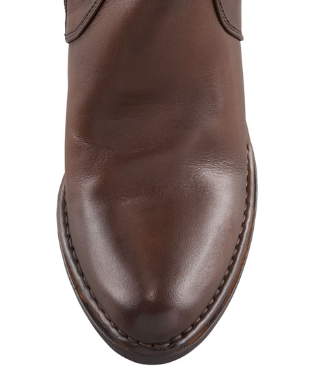 Buckle-Detailed Tall Boot