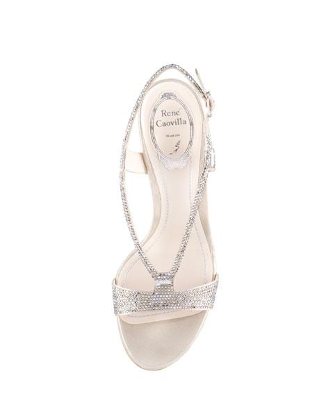 Strass Strappy Sandal