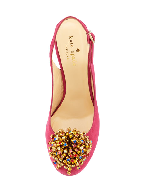 lenora toe-ornament slingback