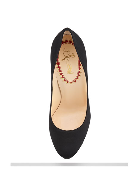 Bois Dore Grosgrain Red Sole Pump
