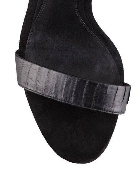Ankle-Cuff Platform Sandal
