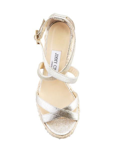 Porto Glitter Espadrille Sandal