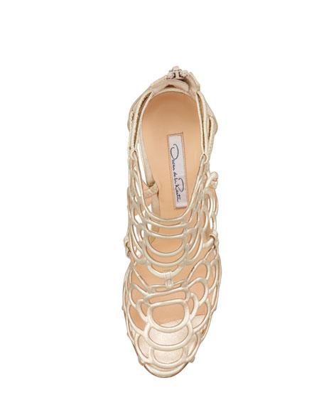 Gladia Metallic Sandal