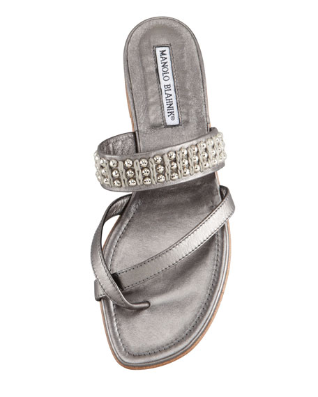 Susaball Beaded Toe-Ring Sandal