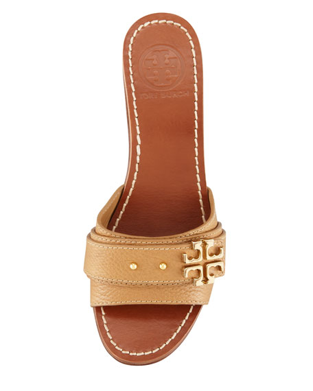 Elina Mid-Wedge Slide Sandal