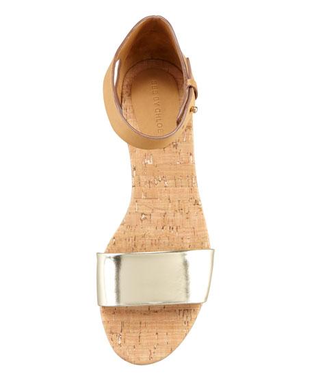 Cork Flat Sandal