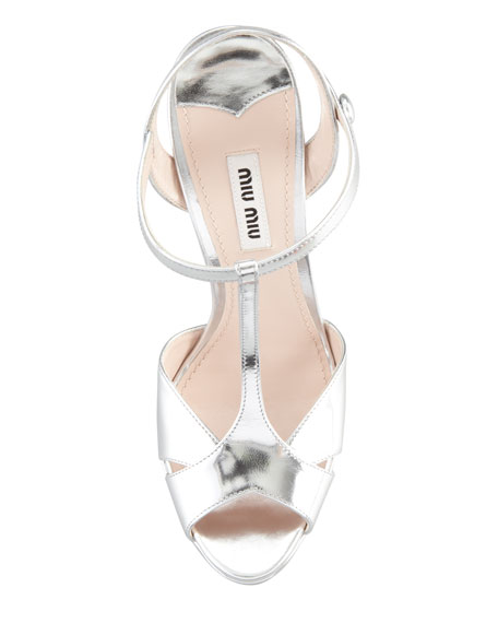 Jeweled Heel Sandal