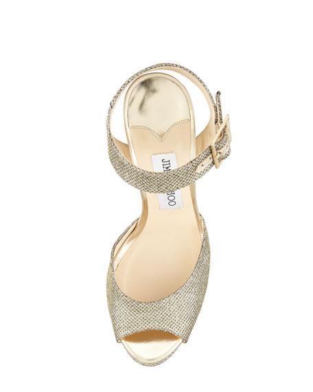Linda Glittered Platform Sandal