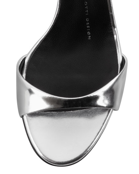 Open-Toe Low-Heel d'Orsay