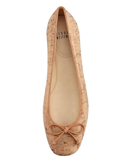 Stringon Cork Ballerina Flat