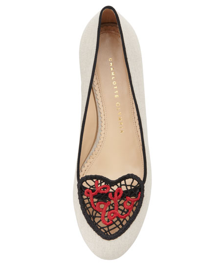 Ooh La La! Crochet Heart Loafer