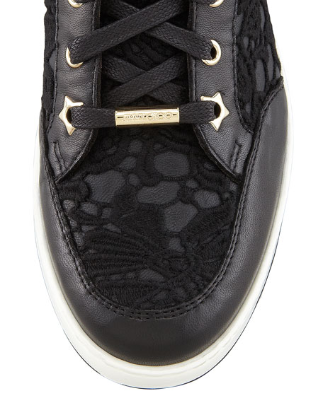 Tokyo Lace High-Top Trainer