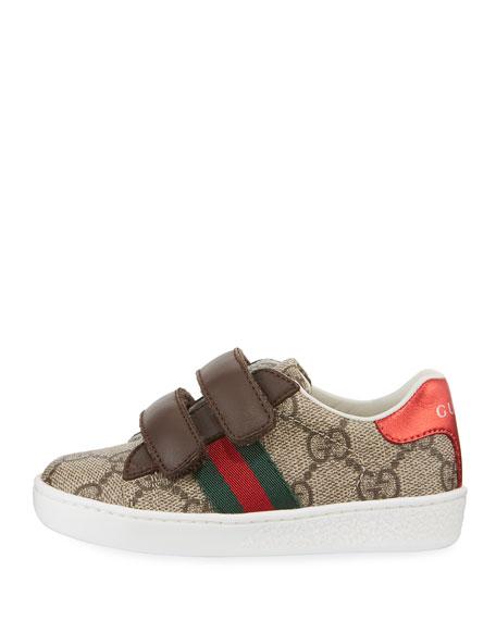 GG Supreme Print Sneaker, Toddler