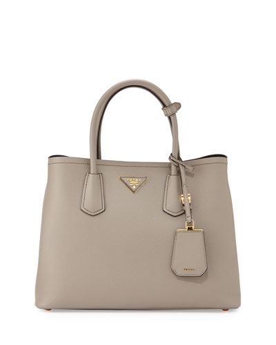 Saffiano Leather Medium Tote Bag