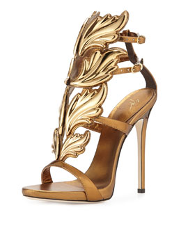 Shooting Flame Leather Sandal
