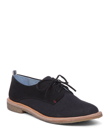 Lola Suede Lace-Up Oxford